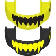 TapouT Adult Fang Mouthguards Yellow