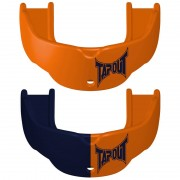 TapouT Adult Mouthguards Orange/Navy Blue