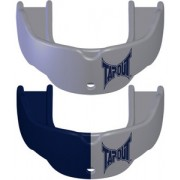 TapouT Adult Mouthguards Silver/Navy Blue