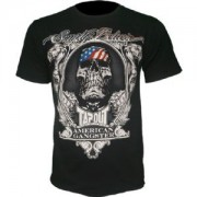 TapouT Chael Sonnen American Gangster Black t-shirt