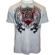 TapouT Jake Shields Eagle Warrior Grey t-shirt
