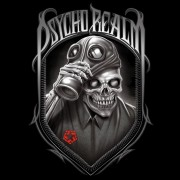 Tribal Psycho Realm T-shirt Black
