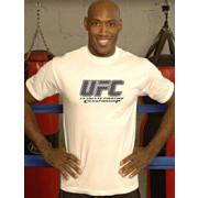 UFC White Octagon tee