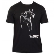 UFC Action T-shirt Black