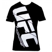 UFC Air Black/White tee