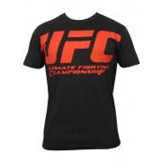 UFC Build Black/Red tee