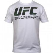 UFC Camo Logo White tee