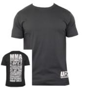 UFC Discipline Charcoal tee