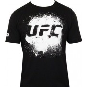 UFC Fist Black/White t-paita