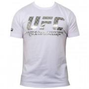 UFC Foil Logo White t-paita