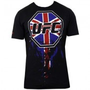 UFC International Octagon Tee Black t-paita