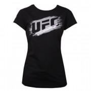 UFC Ladies Scratch Black t-paita