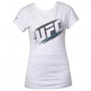 UFC Ladies Scratch White t-paita