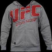UFC Raised Cage Hoodie Grey