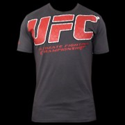 UFC Raised Cage Grey t-paita