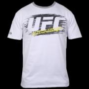 UFC Scrape White/Grey t-paita