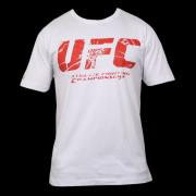 UFC Shatter White/Red t-paita