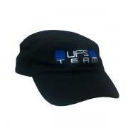 UFS Team Army Cap Black lippis