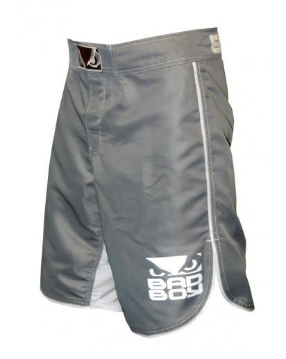 Bad Boy MMA Shorts Grey/White