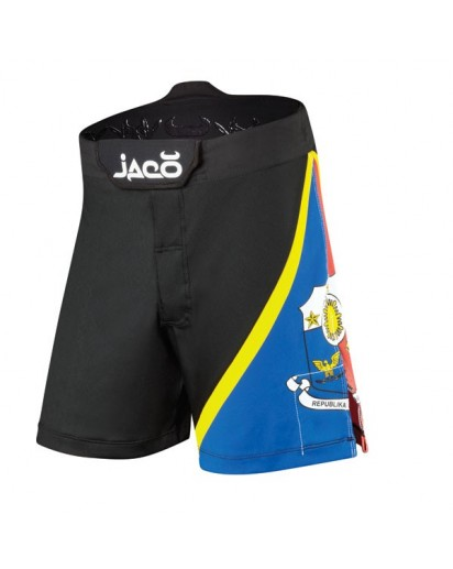 Jaco Philippines Resurgence MMA Fight Shorts Black
