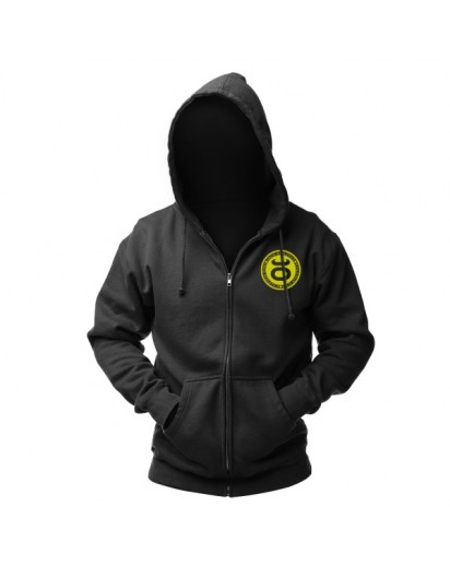 Jaco Team Hoodie Black/SugaFly Yellow