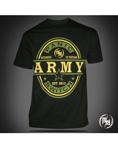 Panic Switch Defender T-shirt Black